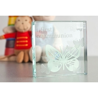 Spaceform Glass Children/'s Hands Hearts Forever Token Mum Mother/'s Day Gift